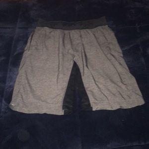 Grey Lululemon Shorts Size Medium